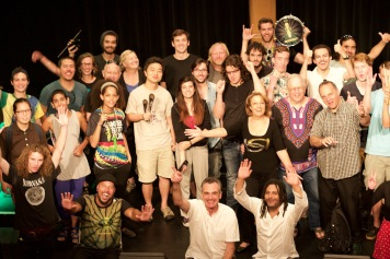 Turma Berklee Turnê EUA 2015 Workshop Ritmos afro-brasileiros na bateria
