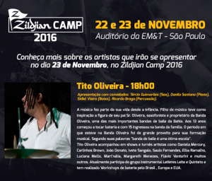 Zildjian Camp 2016